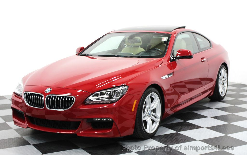 2014 BMW 6 Series CERTIFIED 640i xDRIVE M SPORT COUPE EXEC NAVI - 16164213 - 0