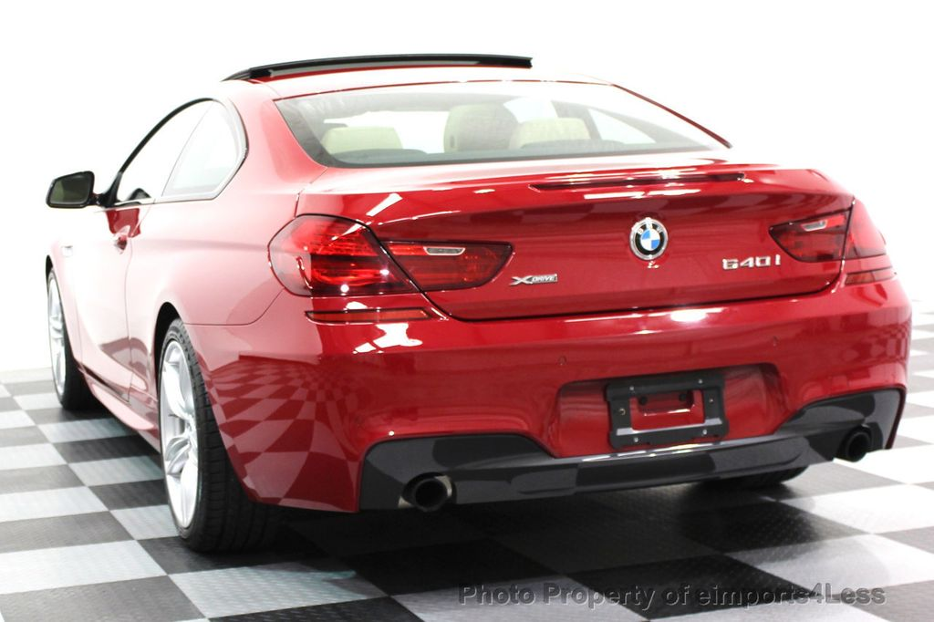 2014 BMW 6 Series CERTIFIED 640i xDRIVE M SPORT COUPE EXEC NAVI - 16164213 - 16