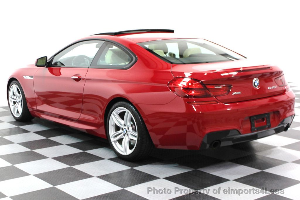 2014 BMW 6 Series CERTIFIED 640i xDRIVE M SPORT COUPE EXEC NAVI - 16164213 - 17