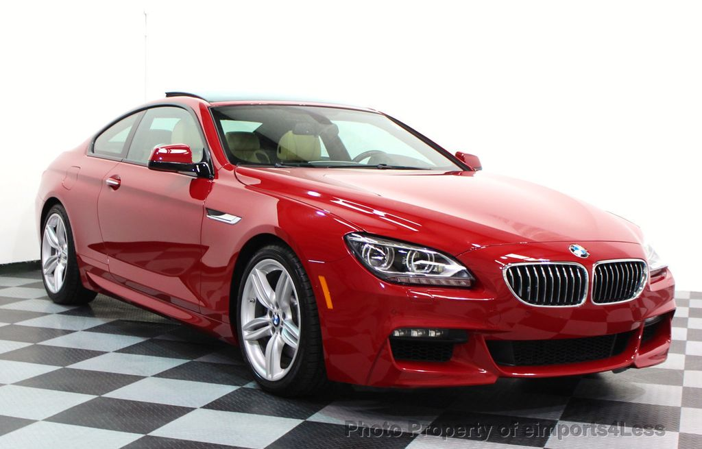 2014 BMW 6 Series CERTIFIED 640i xDRIVE M SPORT COUPE EXEC NAVI - 16164213 - 1