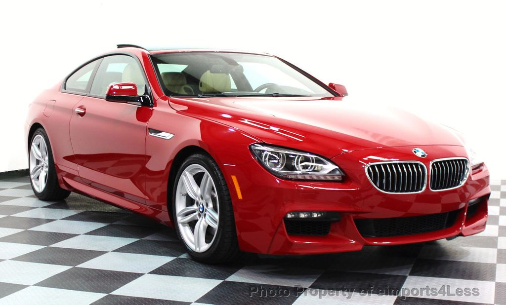 2014 BMW 6 Series CERTIFIED 640i xDRIVE M SPORT COUPE EXEC NAVI - 16164213 - 27