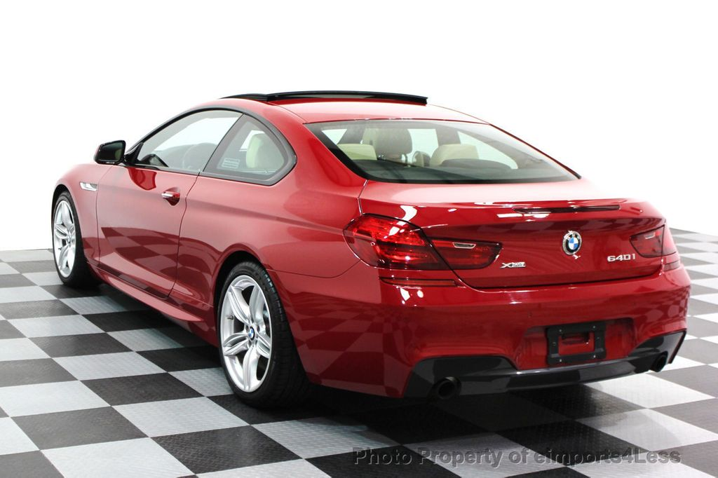2014 BMW 6 Series CERTIFIED 640i xDRIVE M SPORT COUPE EXEC NAVI - 16164213 - 2