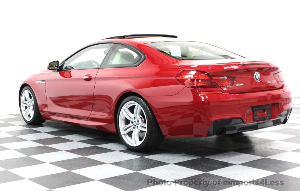 2014 BMW 6 Series CERTIFIED 640i xDRIVE M SPORT COUPE EXEC NAVI - 16164213 - 29
