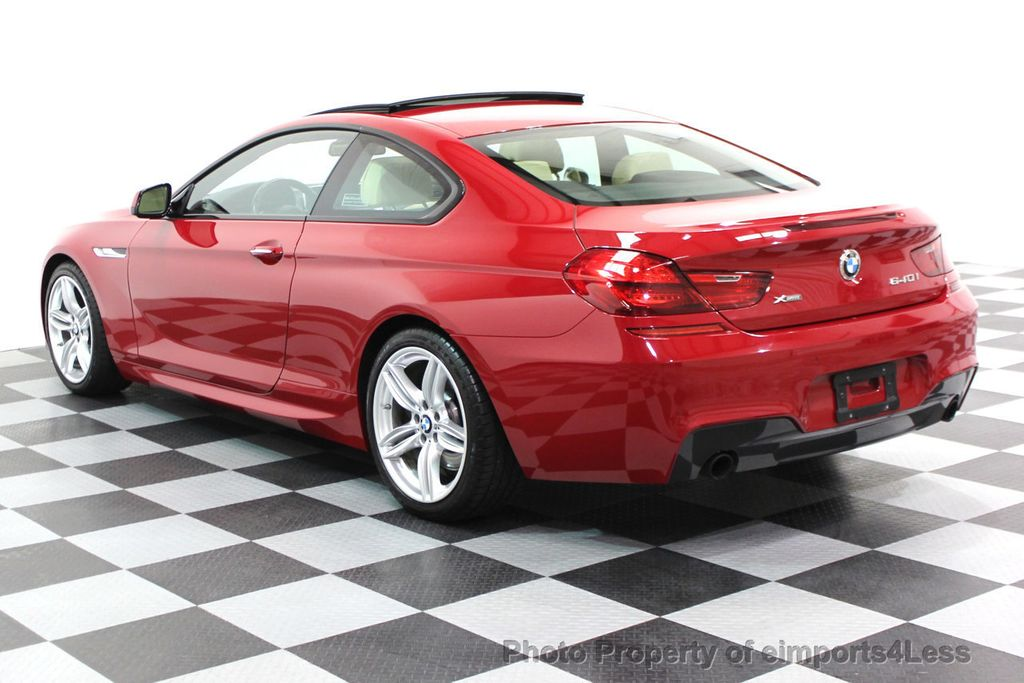 2014 BMW 6 Series CERTIFIED 640i xDRIVE M SPORT COUPE EXEC NAVI - 16164213 - 30