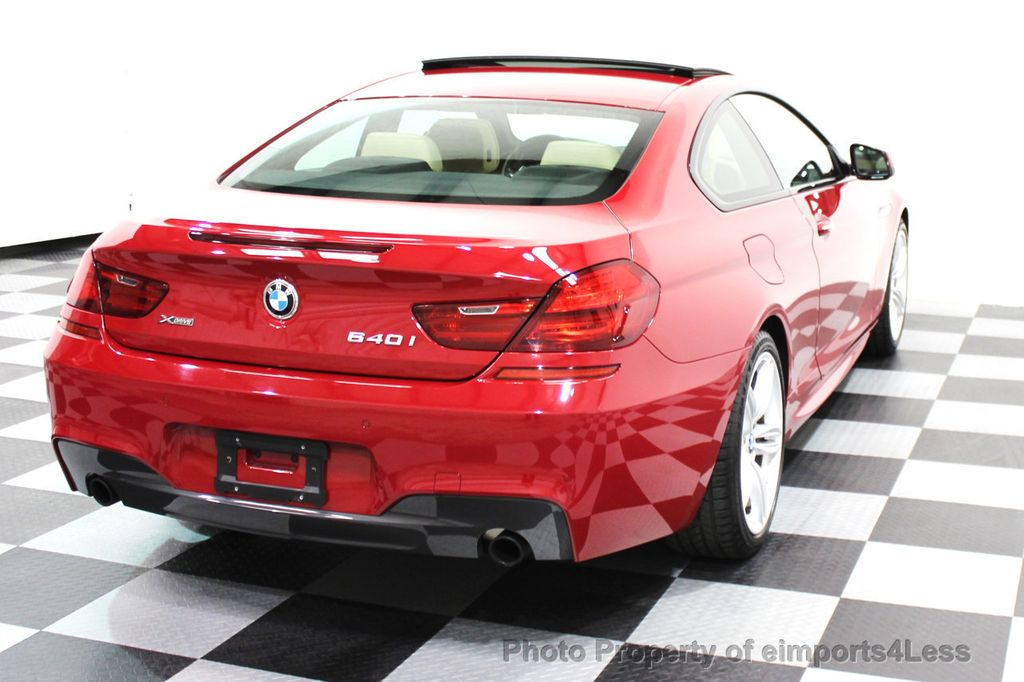 2014 BMW 6 Series CERTIFIED 640i xDRIVE M SPORT COUPE EXEC NAVI - 16164213 - 31