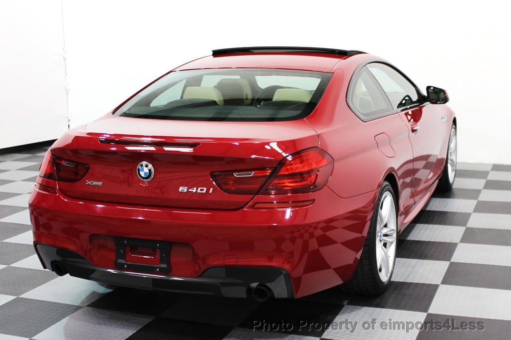 2014 BMW 6 Series CERTIFIED 640i xDRIVE M SPORT COUPE EXEC NAVI - 16164213 - 3