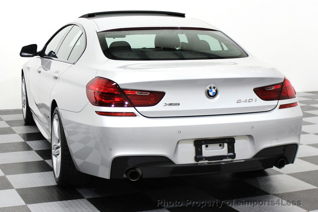2014 BMW 6 Series CERTIFIED 640i xDRIVE M SPORT Gran Coupe AWD 4 DOOR  - 15522557 - 15
