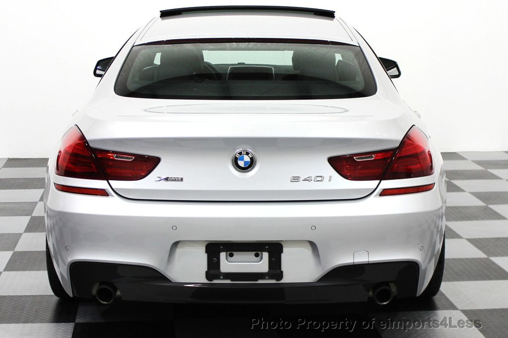 2014 BMW 6 Series CERTIFIED 640i xDRIVE M SPORT Gran Coupe AWD 4 DOOR  - 15522557 - 16