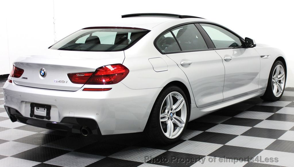 2014 BMW 6 Series CERTIFIED 640i xDRIVE M SPORT Gran Coupe AWD 4 DOOR  - 15522557 - 17