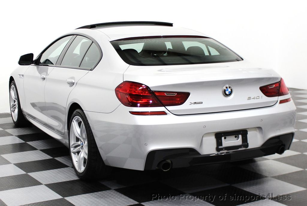 2014 BMW 6 Series CERTIFIED 640i xDRIVE M SPORT Gran Coupe AWD 4 DOOR  - 15522557 - 29