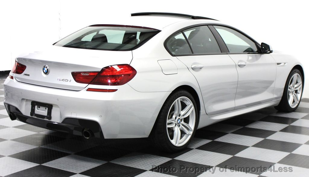 2014 BMW 6 Series CERTIFIED 640i xDRIVE M SPORT Gran Coupe AWD 4 DOOR  - 15522557 - 30