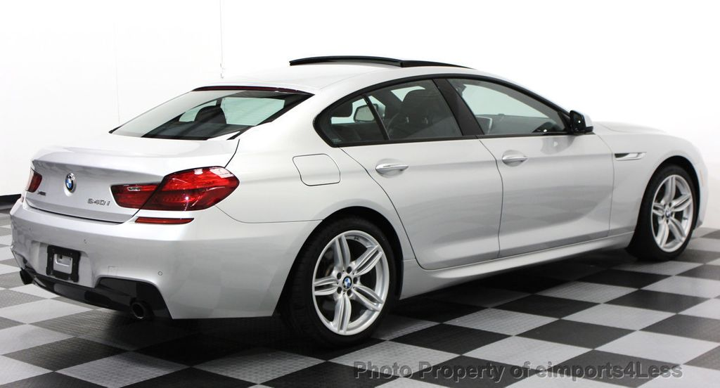2014 BMW 6 Series CERTIFIED 640i xDRIVE M SPORT Gran Coupe AWD 4 DOOR  - 15522557 - 31