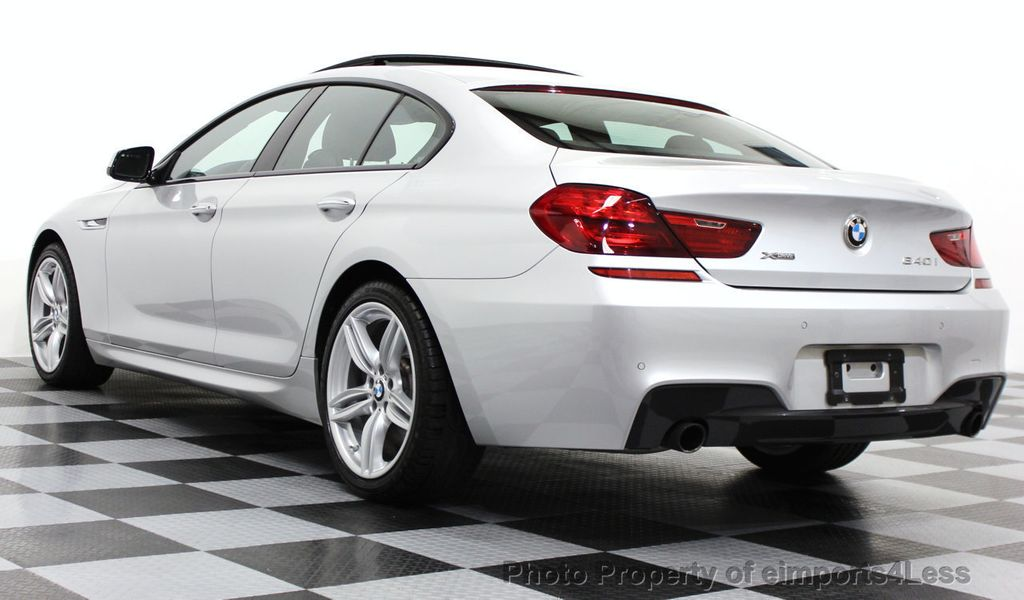 2014 BMW 6 Series CERTIFIED 640i xDRIVE M SPORT Gran Coupe AWD 4 DOOR  - 15522557 - 44