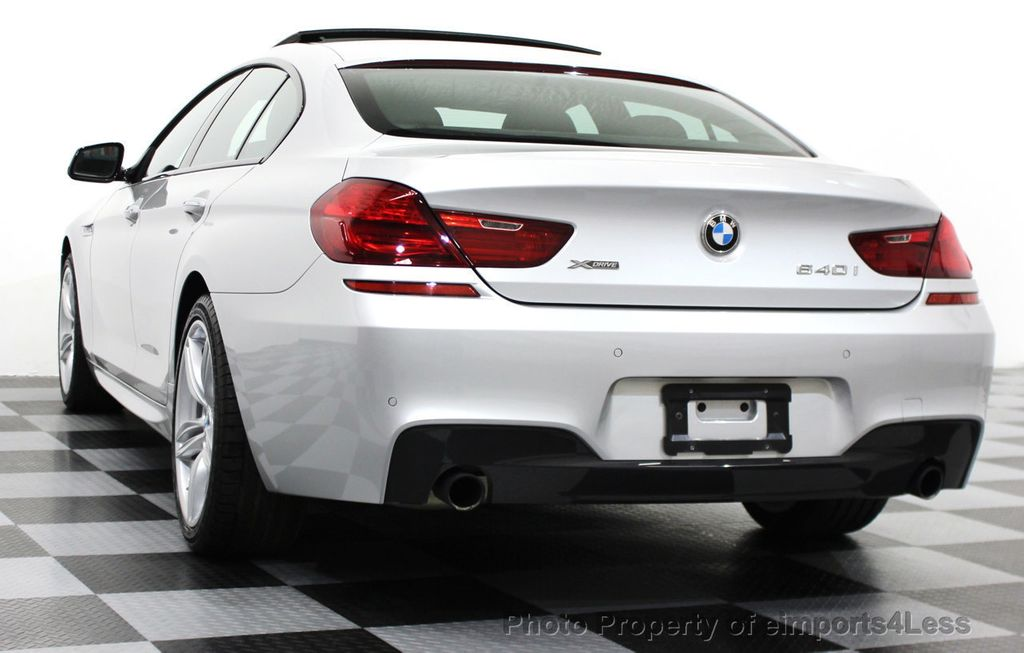 2014 BMW 6 Series CERTIFIED 640i xDRIVE M SPORT Gran Coupe AWD 4 DOOR  - 15522557 - 45