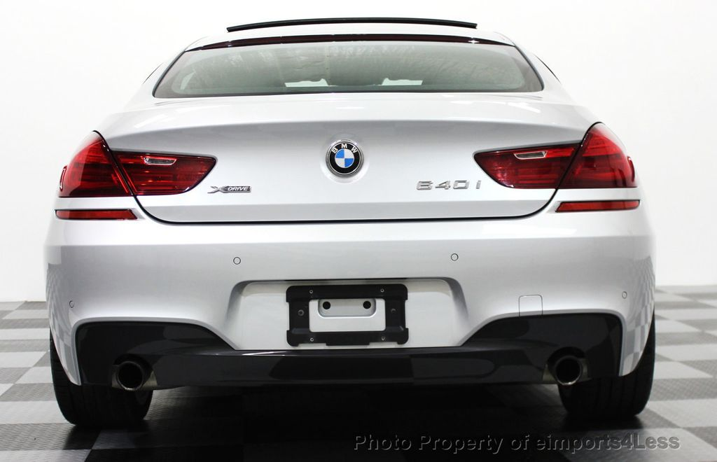 2014 BMW 6 Series CERTIFIED 640i xDRIVE M SPORT Gran Coupe AWD 4 DOOR  - 15522557 - 46