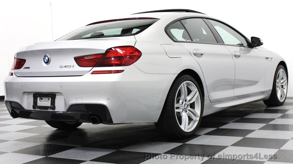 2014 BMW 6 Series CERTIFIED 640i xDRIVE M SPORT Gran Coupe AWD 4 DOOR  - 15522557 - 47