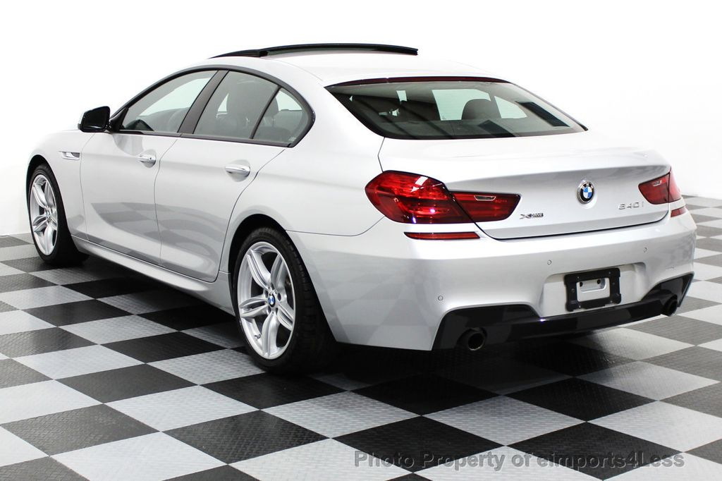 2014 BMW 6 Series CERTIFIED 640i xDRIVE M SPORT Gran Coupe AWD 4 DOOR  - 15522557 - 50