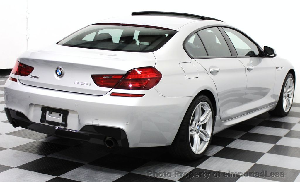 2014 BMW 6 Series CERTIFIED 640i xDRIVE M SPORT Gran Coupe AWD 4 DOOR  - 15522557 - 51