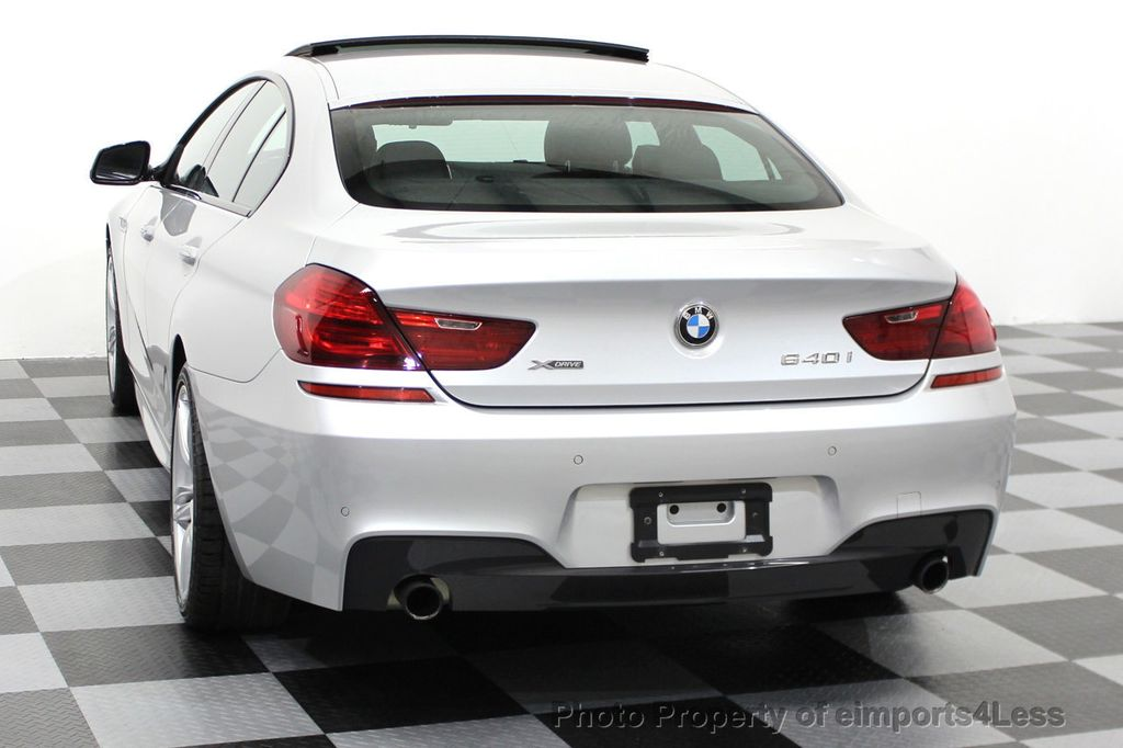 2014 BMW 6 Series CERTIFIED 640i xDRIVE M SPORT Gran Coupe AWD 4 DOOR  - 15522557 - 54