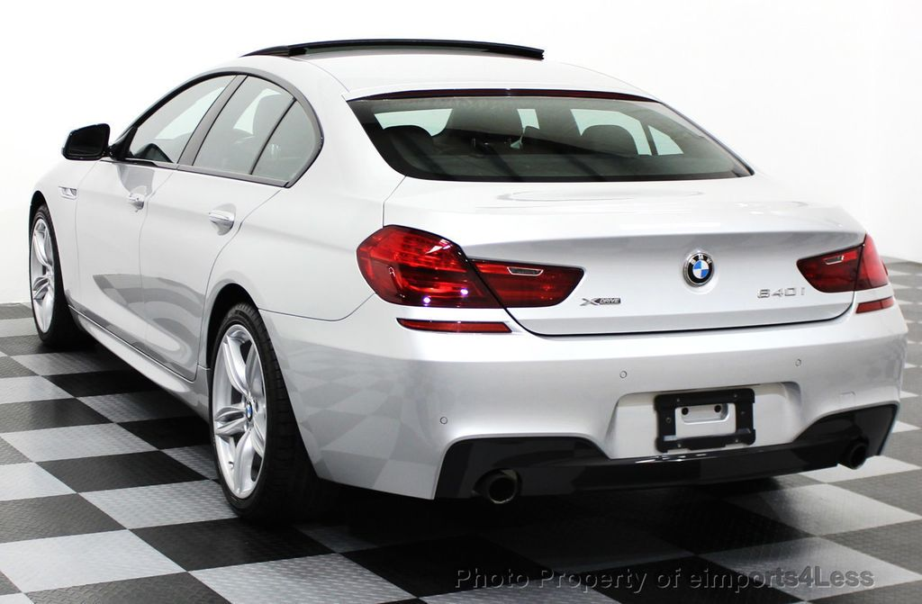 2014 BMW 6 Series CERTIFIED 640i xDRIVE M SPORT Gran Coupe AWD 4 DOOR  - 15522557 - 55