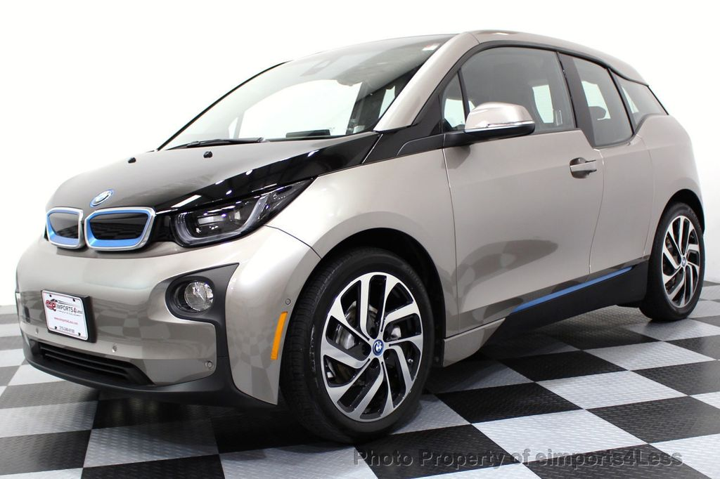 2014 BMW i3 CERTIFIED i3 REXT TERA Range Extender Active Cruise NAV - 16536084 - 0