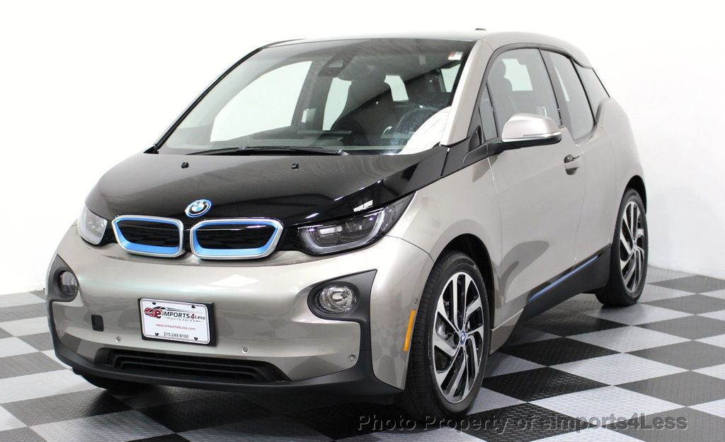 2014 BMW i3 CERTIFIED i3 REXT TERA Range Extender Active Cruise NAV - 16536084 - 12