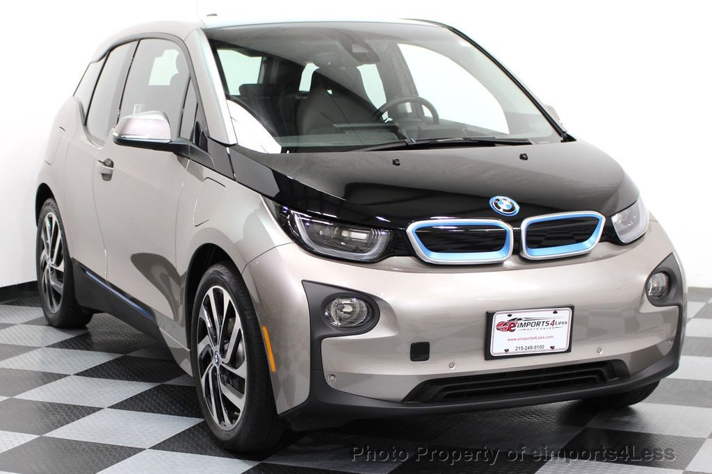 2014 BMW i3 CERTIFIED i3 REXT TERA Range Extender Active Cruise NAV - 16536084 - 13