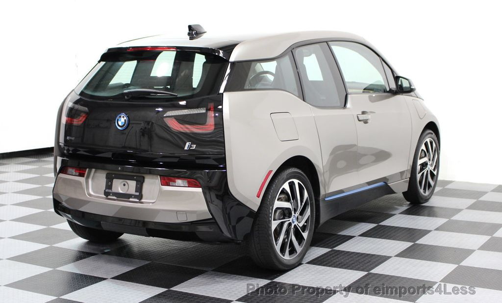 2014 BMW i3 CERTIFIED i3 REXT TERA Range Extender Active Cruise NAV - 16536084 - 16