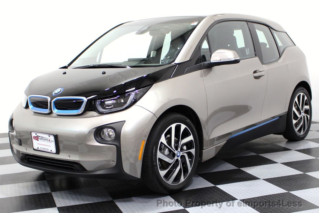 2014 BMW i3 CERTIFIED i3 REXT TERA Range Extender Active Cruise NAV - 16536084 - 26