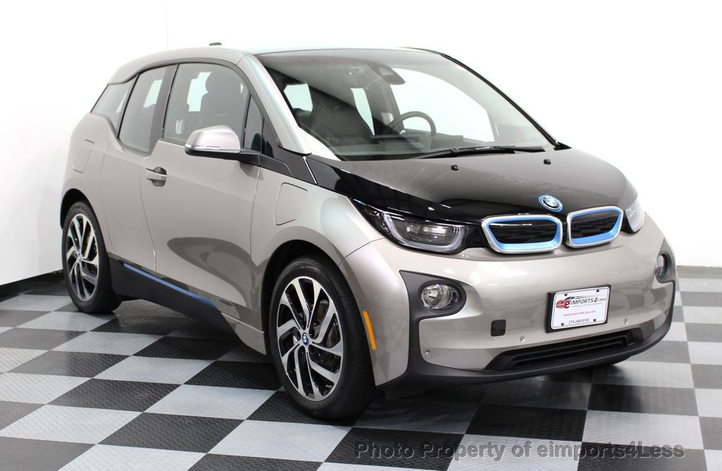 2014 BMW i3 CERTIFIED i3 REXT TERA Range Extender Active Cruise NAV - 16536084 - 27