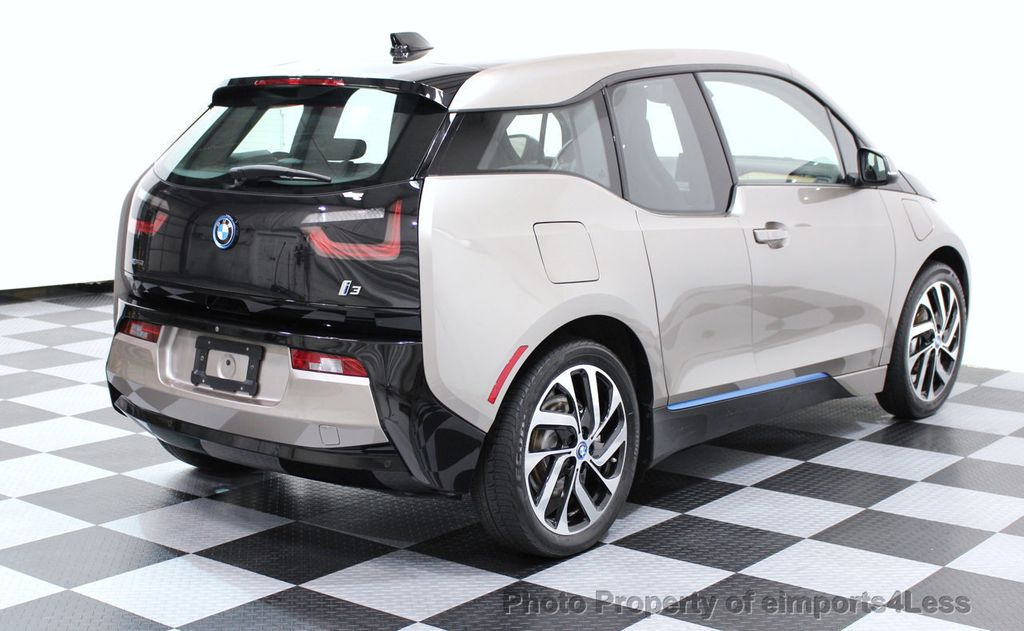 2014 BMW i3 CERTIFIED i3 REXT TERA Range Extender Active Cruise NAV - 16536084 - 3
