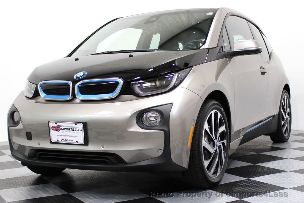 2014 BMW i3 CERTIFIED i3 REXT TERA Range Extender Active Cruise NAV - 16536084 - 39