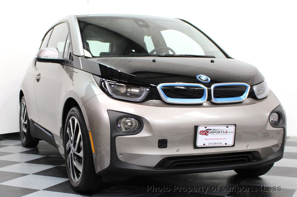2014 BMW i3 CERTIFIED i3 REXT TERA Range Extender Active Cruise NAV - 16536084 - 40