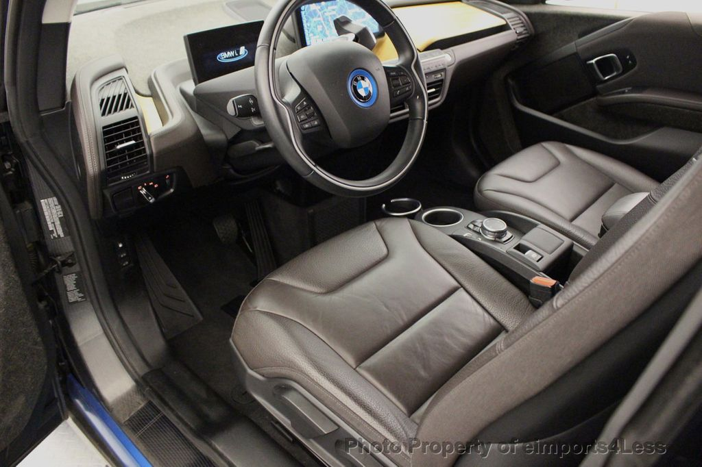 2014 BMW i3 CERTIFIED i3 REXT TERA Range Extender Active Cruise NAV - 16536084 - 43