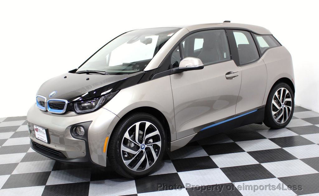 2014 BMW i3 CERTIFIED i3 REXT TERA Range Extender Active Cruise NAV - 16536084 - 48