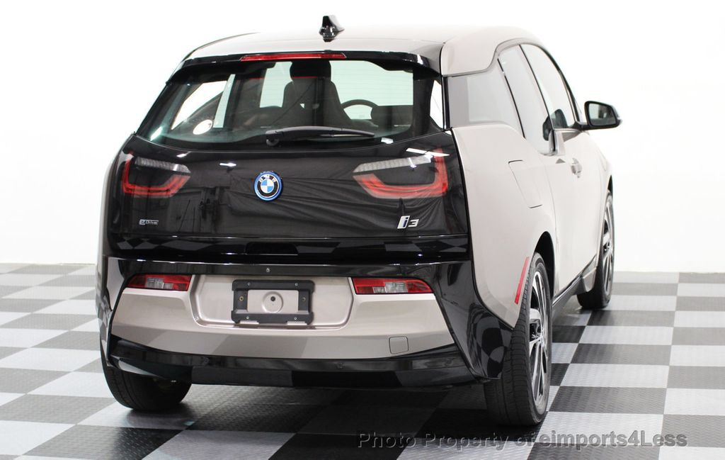 2014 BMW i3 CERTIFIED i3 REXT TERA Range Extender Active Cruise NAV - 16536084 - 50