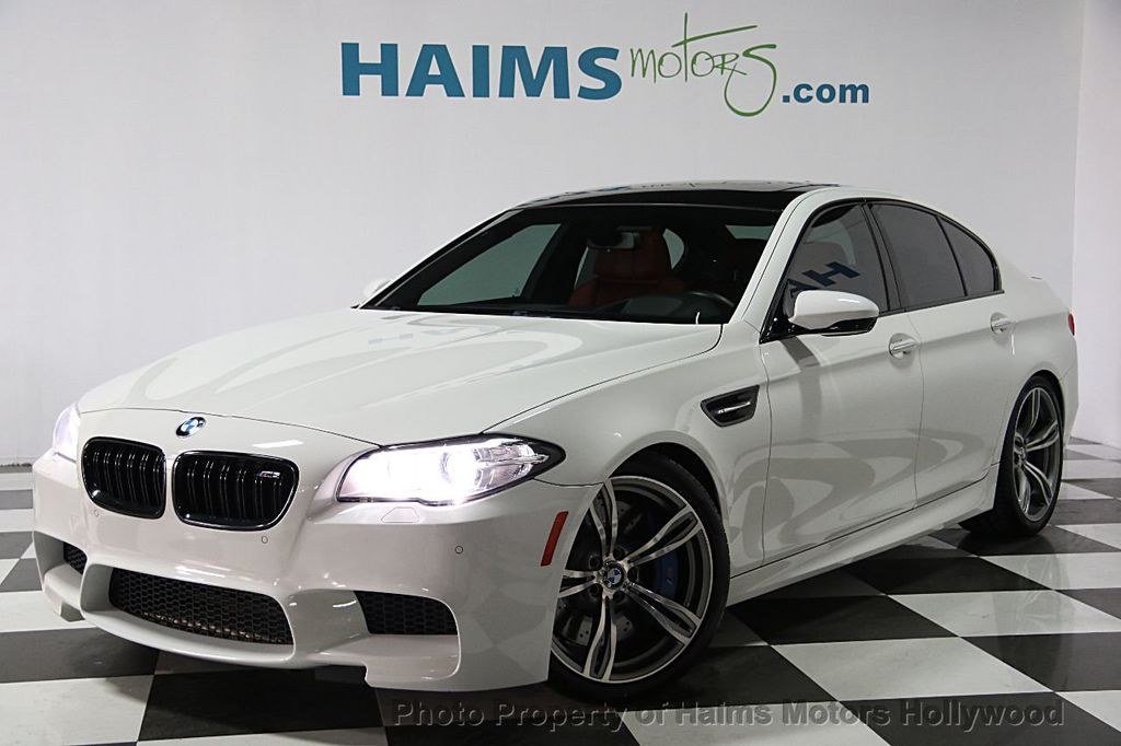 2014 Used BMW M5 4dr Sedan at Haims Motors Serving Fort Lauderdale ...