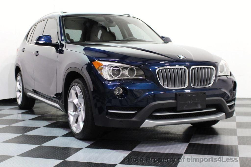 2014 BMW X1 CERTIFIED XDRIVE28i X LINE ULTIMATE AWD SUV CAM NAVI