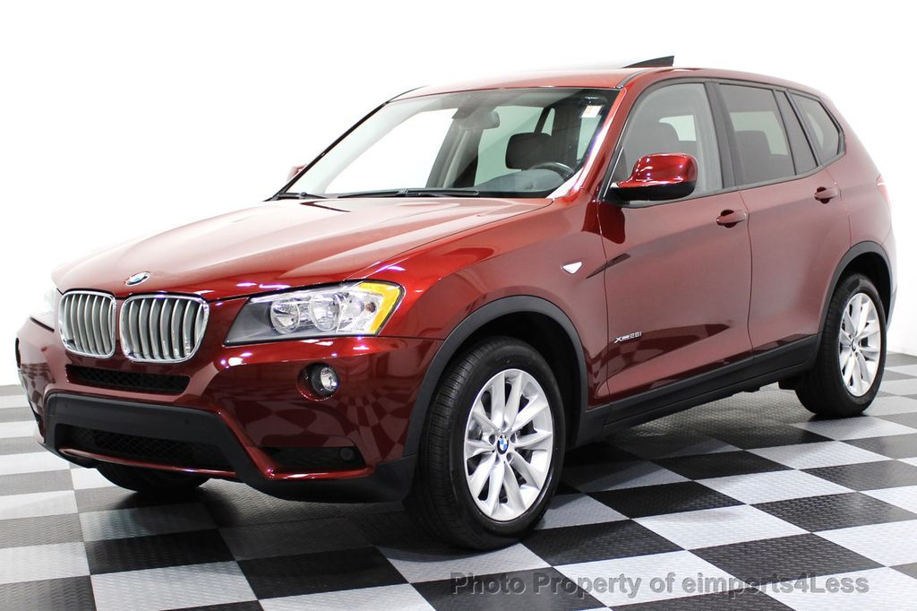 2014 BMW X3 CERTIFIED X3 xDRIVE28i AWD CAMERA NAVIGATION - 16529860 - 0