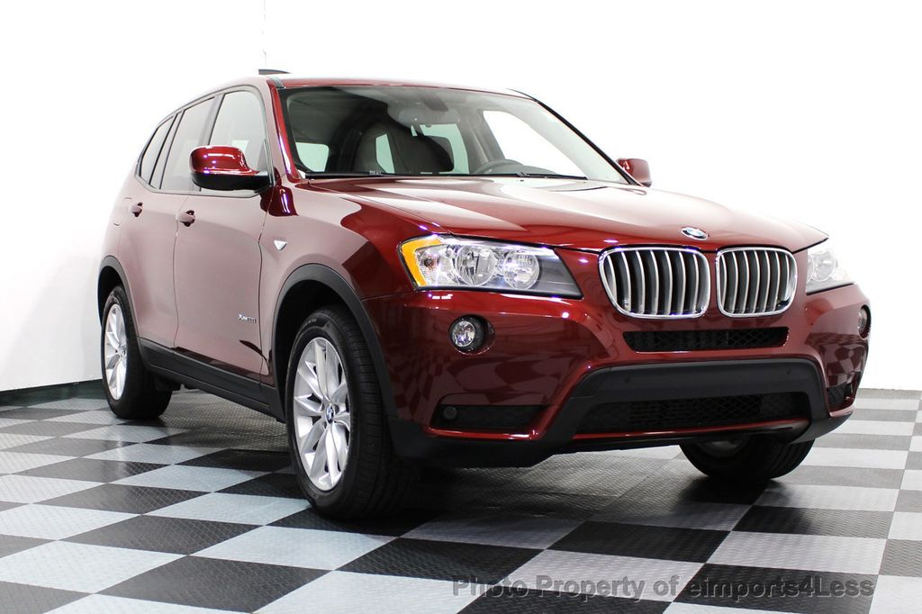 2014 BMW X3 CERTIFIED X3 xDRIVE28i AWD CAMERA NAVIGATION - 16529860 - 28