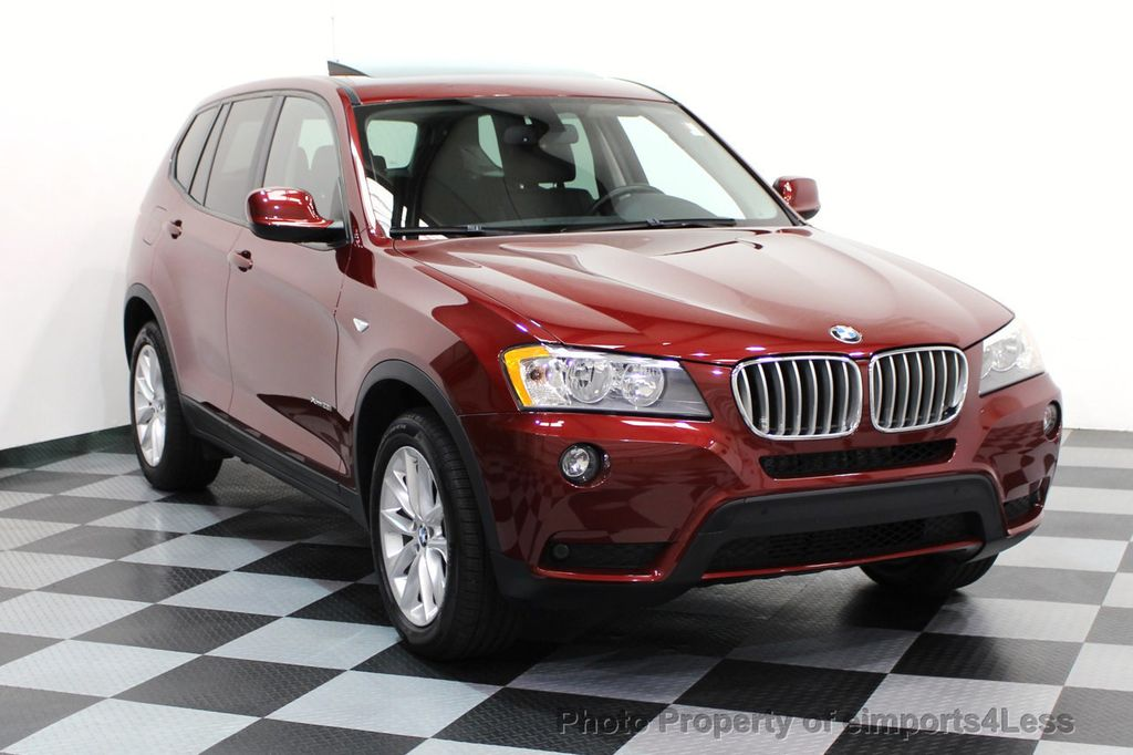 2014 BMW X3 CERTIFIED X3 xDRIVE28i AWD CAMERA NAVIGATION - 16529860 - 38
