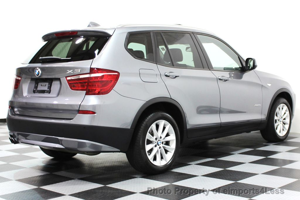 2014 BMW X3 CERTIFIED X3 xDRIVE28i AWD DRIVER ASSIST / NAVI - 16417230 - 28