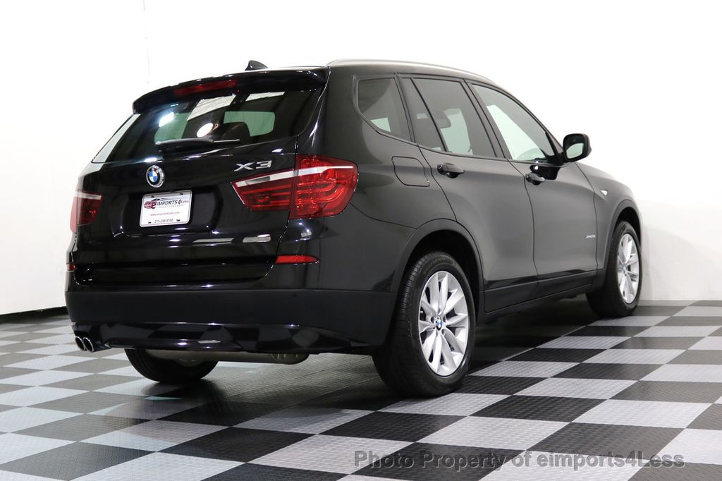 2014 BMW X3 CERTIFIED X3 xDRIVE28i AWD HUD CAMERA NAVI - 16934212 - 30