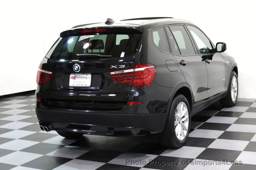 2014 BMW X3 CERTIFIED X3 xDRIVE28i AWD HUD CAMERA NAVI - 16934212 - 3