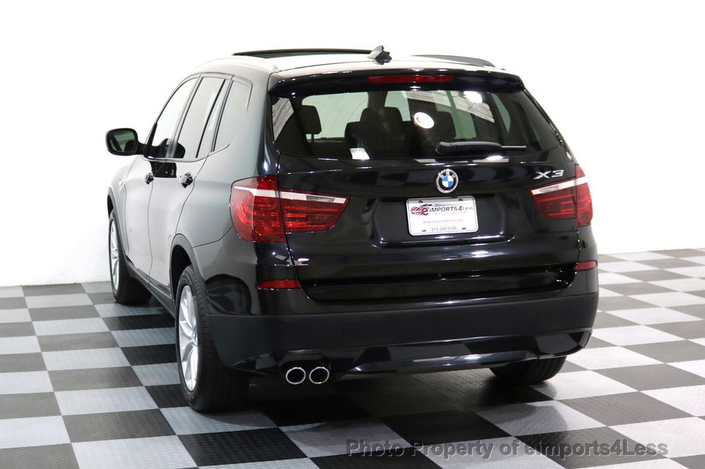 2014 BMW X3 CERTIFIED X3 xDRIVE28i AWD HUD CAMERA NAVI - 16934212 - 44
