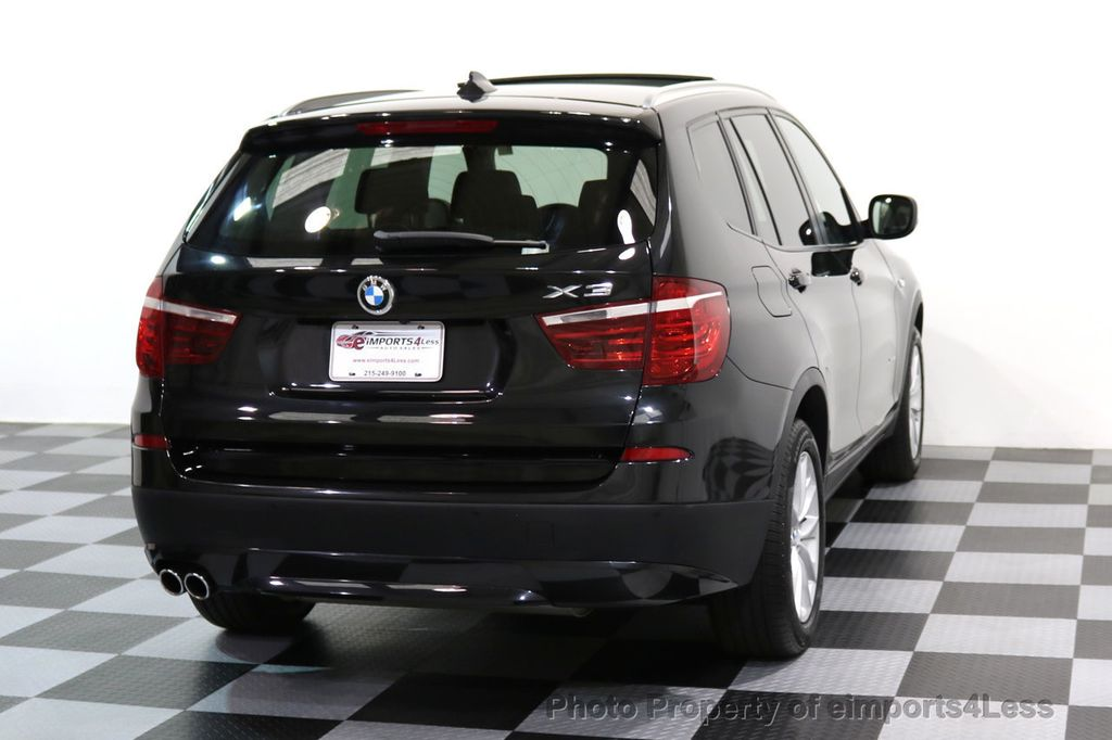 2014 BMW X3 CERTIFIED X3 xDRIVE28i AWD HUD CAMERA NAVI - 16934212 - 45