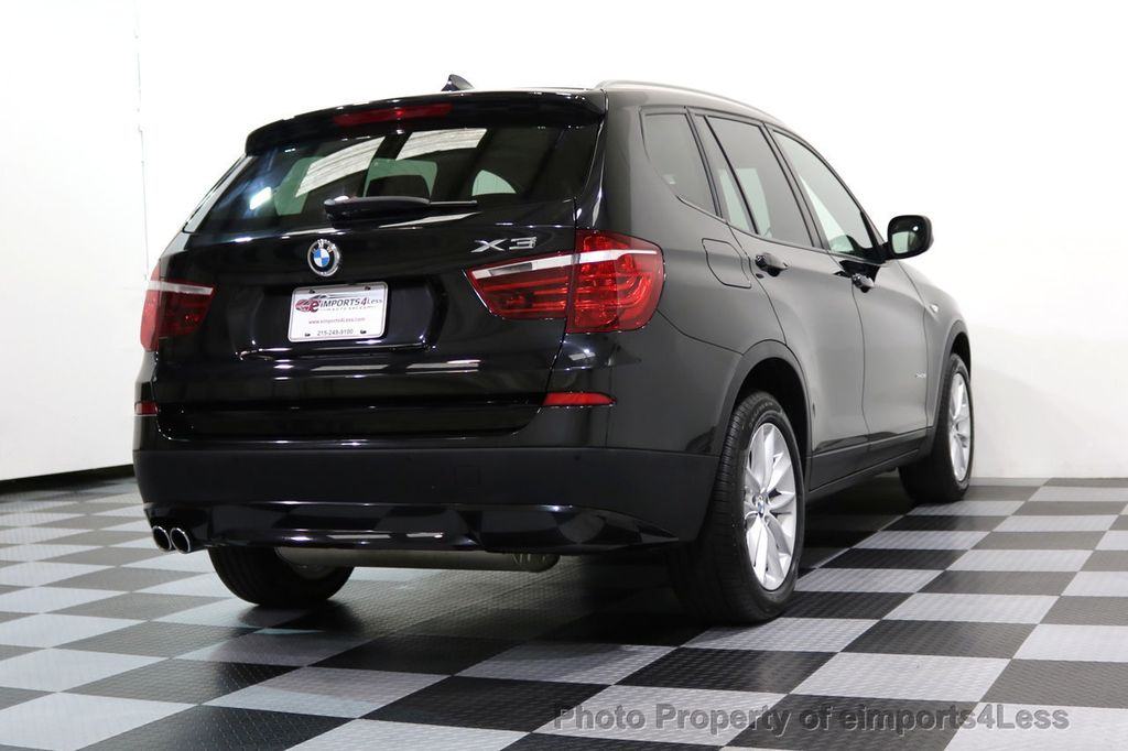 2014 BMW X3 CERTIFIED X3 xDRIVE28i AWD HUD CAMERA NAVI - 16934212 - 48