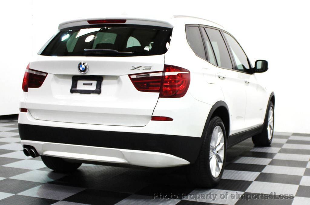 2014 BMW X3 CERTIFIED X3 xDRIVE28i AWD SUV CAMERA / NAVIGATION - 16067051 - 25