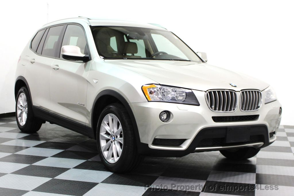 2014 BMW X3 CERTIFIED X3 xDrive28i AWD TECH CAMERA NAVIGATION - 16369473 - 1