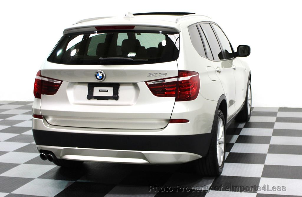 2014 BMW X3 CERTIFIED X3 xDrive28i AWD TECH CAMERA NAVIGATION - 16369473 - 29